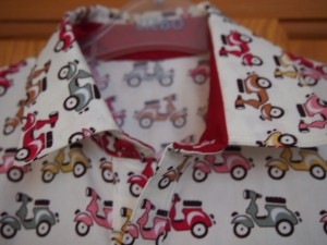 scooter shirt coller